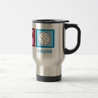Cute Volleyball Travel Mug