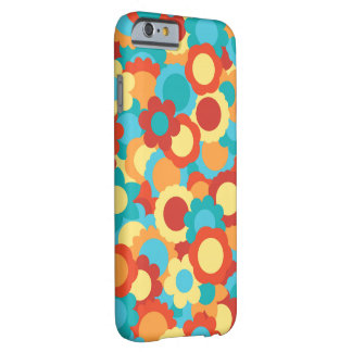 Cute Warm Flower Pattern Barely There iPhone 6 Case