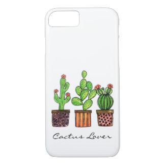 Cute Watercolor Cactus In Pots Case-Mate iPhone Case