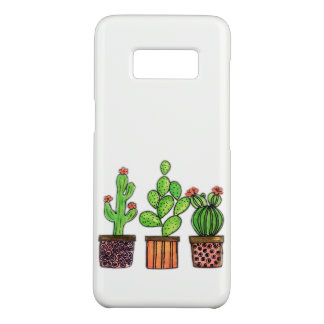 Cute Watercolor Cactus In Pots Case-Mate Samsung Galaxy S8 Case