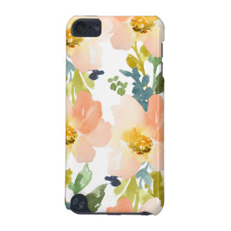 Cute Watercolor Floral Pattern iPod Touch (5th Generation) Cases