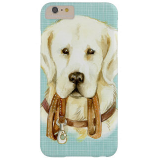 Cute Watercolor White Puppy iPhone Case