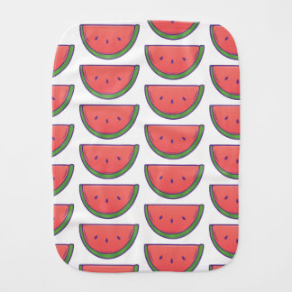 Cute Watermelon Burp Cloth