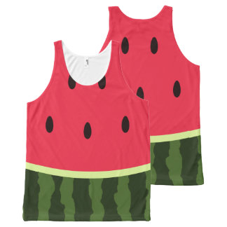 Cute Watermelon Kawaii Tank Top