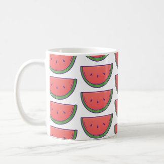 Cute Watermelon Pattern Coffee Mug