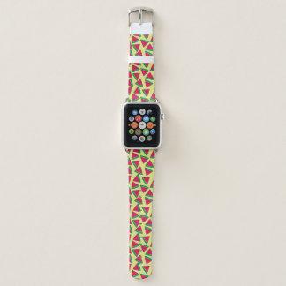 Cute Watermelon Slice Cartoon Pattern Apple Watch Band