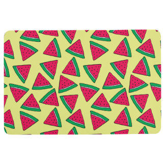 Cute Watermelon Slice Cartoon Pattern Floor Mat