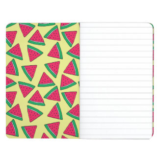 Cute Watermelon Slice Cartoon Pattern Journal