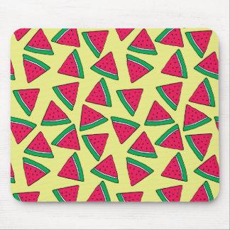 Cute Watermelon Slice Cartoon Pattern Mouse Pad
