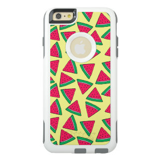 Cute Watermelon Slice Cartoon Pattern OtterBox iPhone 6/6s Plus Case