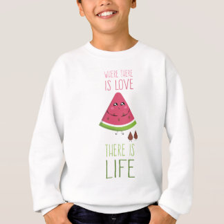 Cute Watermelon Sweatshirt