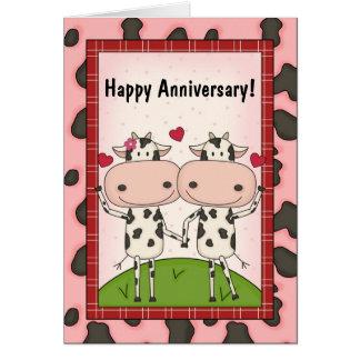 Cute Wedding Anniversary Wishes Greeting Card