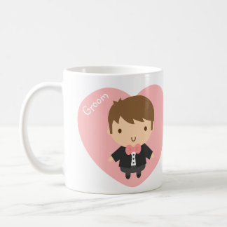 Cute Wedding Groom Boy in Tuxedo For Him Coffee Mug