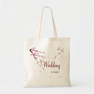Cute Wedding Personalized Bag with  Sakura