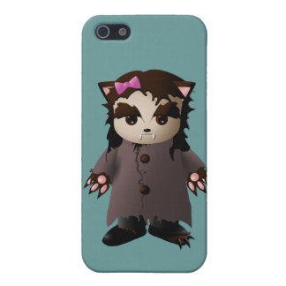 Cute Werewolf Wolf-Girl Cover For iPhone 5/5S