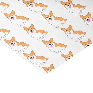 Cute West Pembroke Corgi Pup Tissue Paper