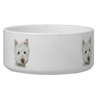 Cute Westie Dog Pet Bowl