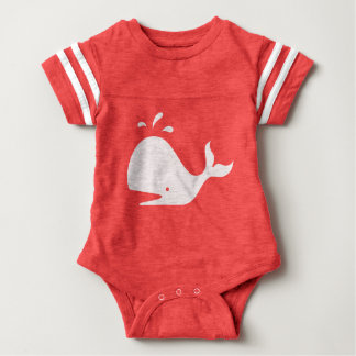 Cute Whale 4Carrie Baby Bodysuit