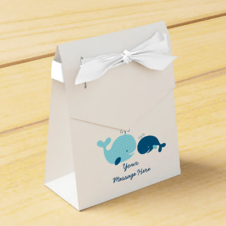 Cute Whale Party Favor Box