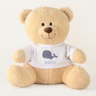 Cute Whale Sea Animal Nautical Ocean Teddy Bear
