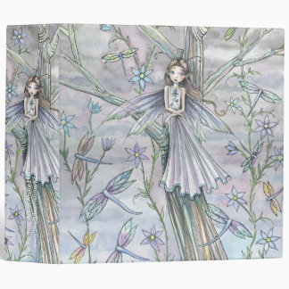 Cute Whimsical Fairy Binder by Molly Harrison