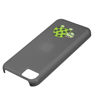 Cute Whimsical Turtle Lady iPhone 5C Cases