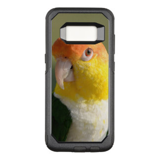 Cute White Bellied Caique Parrot OtterBox Commuter Samsung Galaxy S8 Case