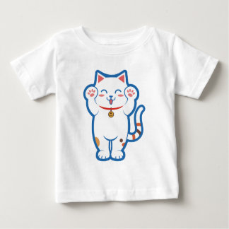 Cute white cat baby T-Shirt