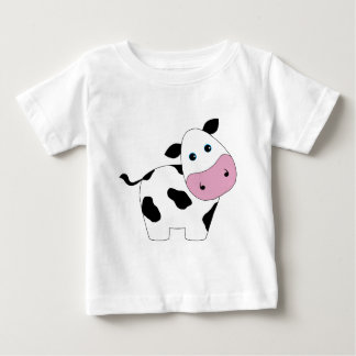 Cute White Cow Baby T-Shirt