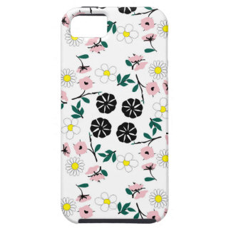 Cute white floral iPhone 5 case