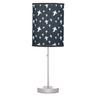 Cute white ghosts table lamp