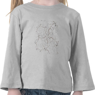 Cute White Mouse Pattern Mice on White Tee Shirts