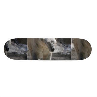 Cute White Polar Bear Skateboard Decks