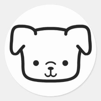Cute Widdle Classic Round Sticker