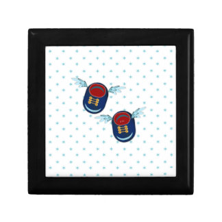 Cute winged shoes gift box