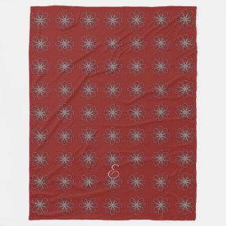 Cute  Winter Snowflakes Pattern Blanket