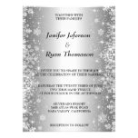 Cute winter wedding Invitation