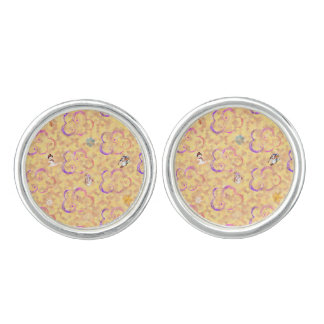 Cute Winter X-mas Pattern A Cufflinks
