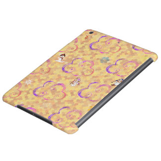 Cute Winter X-mas Pattern A iPad Air Cover