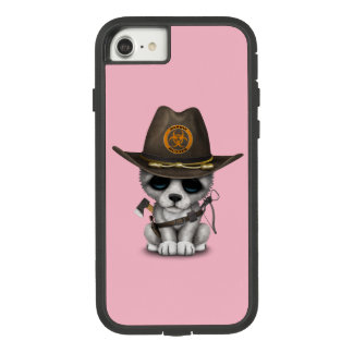 Cute Wolf Cub Zombie Hunter Case-Mate Tough Extreme iPhone 8/7 Case