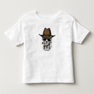 Cute Wolf Cub Zombie Hunter Toddler T-shirt