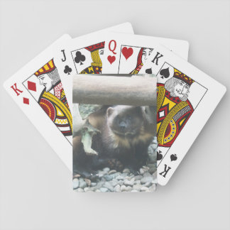 Cute Wolverine Playing Cards