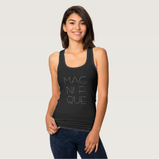 Cute Women's Tank Magnifique French Girl Style
