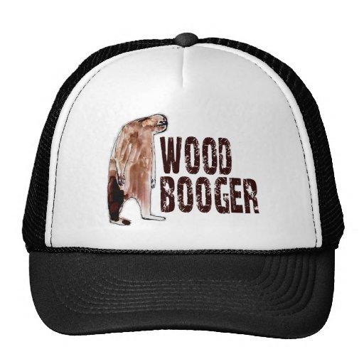 Cute WOODBOOGER Sasquatch - Finding Bigfoot Gear Trucker Hat
