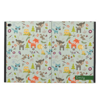 Cute Woodland Creatures Animal Pattern Powis iPad Air 2 Case