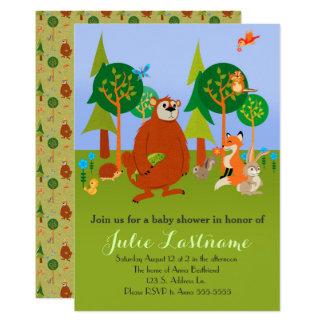 Cute Woodland Critters Card
