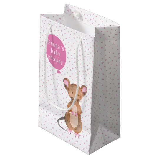 Cute Woodland Mouse | Baby Shower Gift Bag