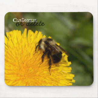 Cute Worker Bee; Customizable Mouse Pad