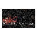 Cute Wrecker Truck Business Card Templates