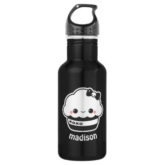 Cute XOXO Cupcake 532 Ml Water Bottle